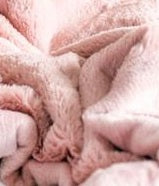 Saranoni Lush Receiving Blanket - Ballet Slipper Pink