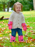 Stonz Booties in Pasley Pink/Fuchsia -  - Little Feet Childrens Shoes  - 2
