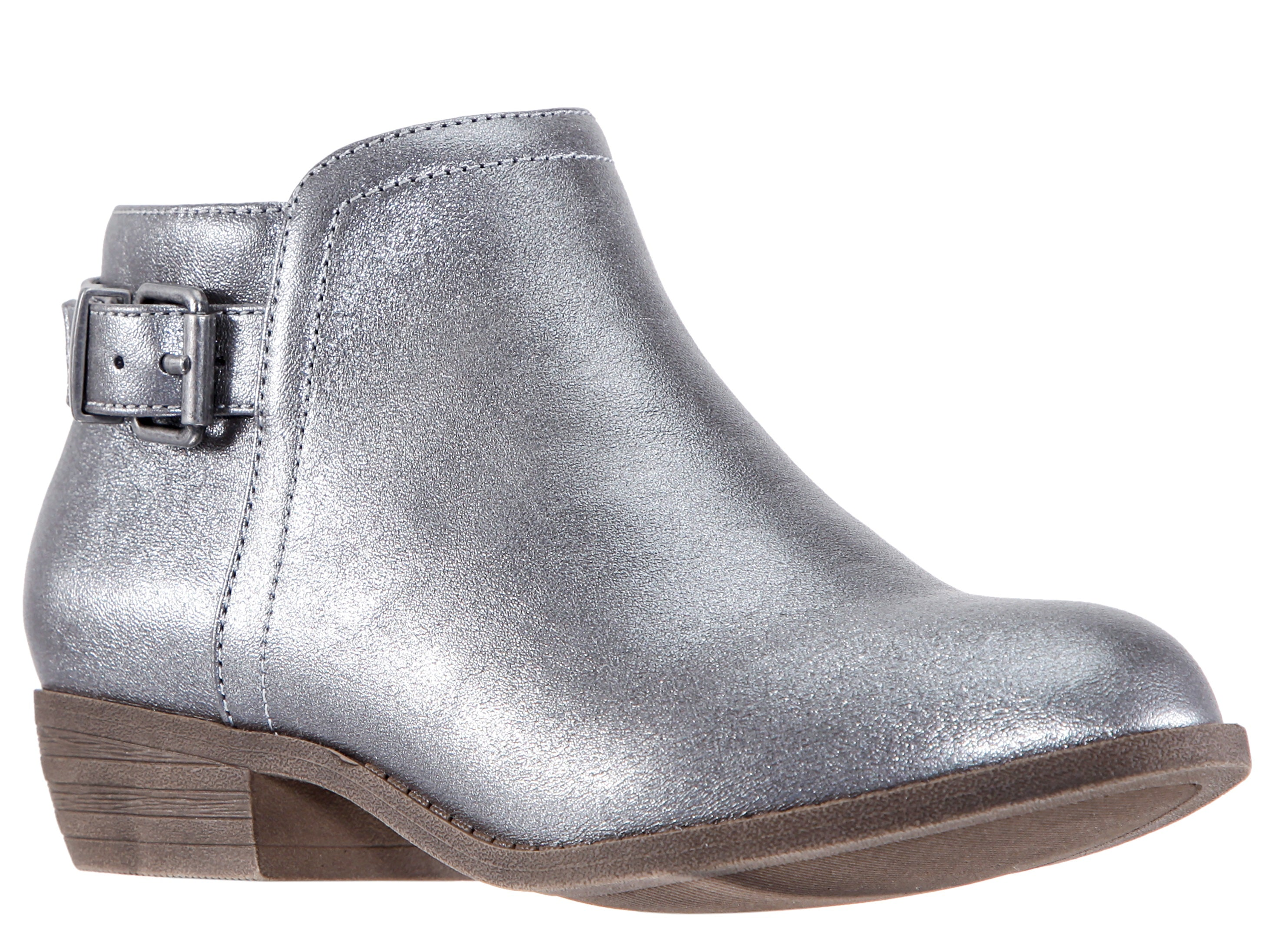Tea Ankle Boot - Pewter Shimmer