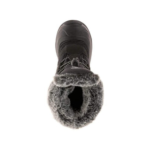 Sheen Fur Kids Winter Boot - Black