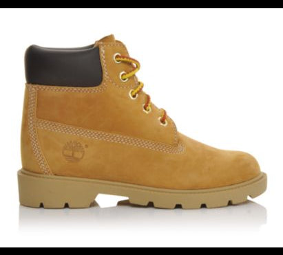 "Timberland 6"" Classic Waterproof Boot in Wheat -  - Little Feet Childrens Shoes  - 1"