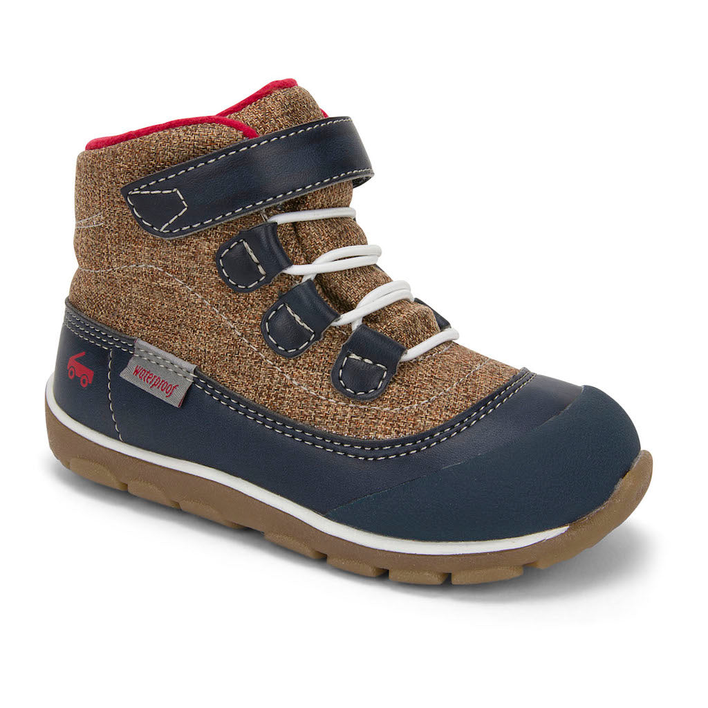 See Kai Run Sam II WP Boot Blue/Tan