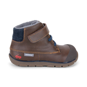 Lennon Waterproof boot - Brown Leather