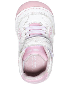 Stride Rite Soft Motion Bambi Sneaker - White/Pink