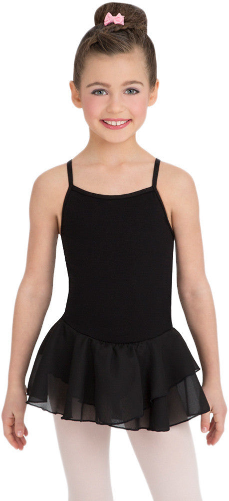 Capezio Camisole Cotton Dress in Black -  - Little Feet Childrens Shoes  - 1