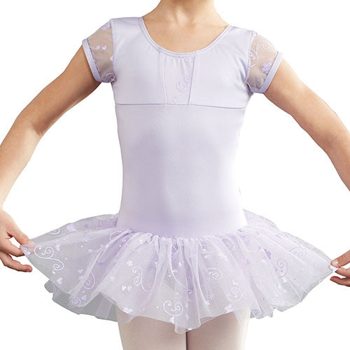 Capezio Cap Sleeve Tutu Dress in Lavender -  - Little Feet Childrens Shoes