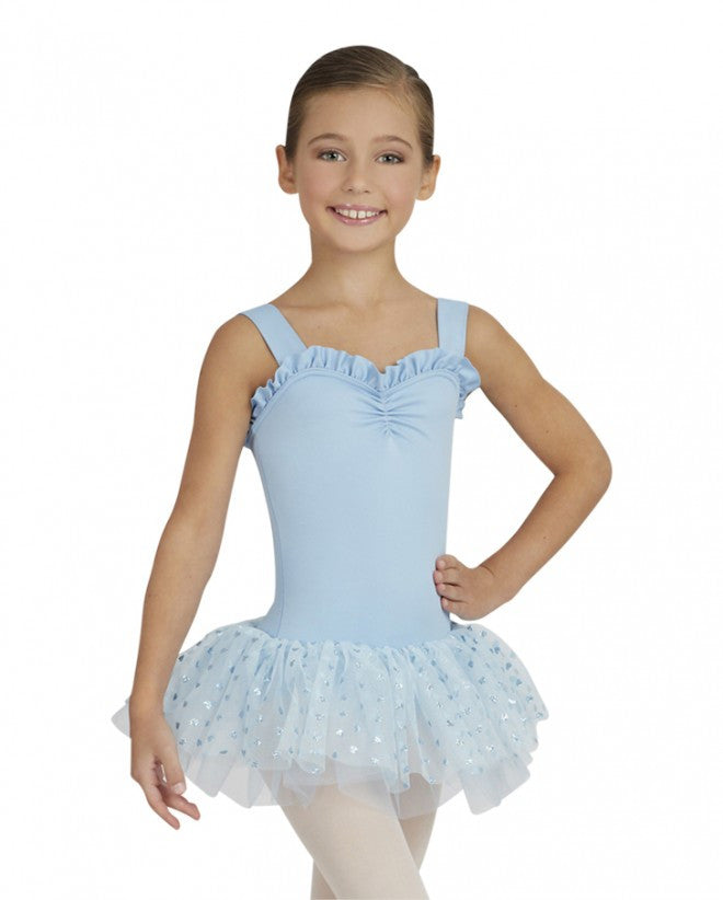 Capezio Sweetheart Tutu Dress in Light Blue -  - Little Feet Childrens Shoes  - 1