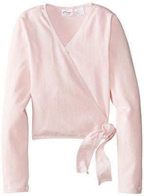 Capezio Wrap Top in Pink