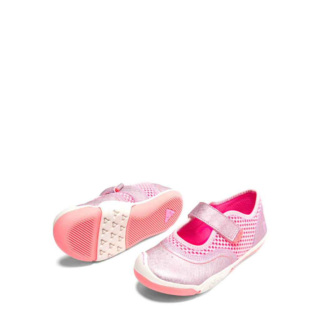 Plae Emme MJ in Sparkle Lotus Pink (Sizes 6-3)