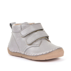 Froddo Leather Bootie - Light Grey