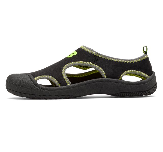 New Balance Kids Cruiser Sandal - Black/Lime
