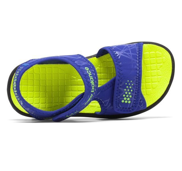 New Balance Kids Sport Sandal - Blue/Yellow