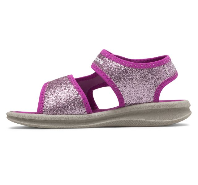 New Balance Kids Sport Sandal - Purple Sparkle