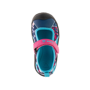 Claire Sandal - Magenta/Teal