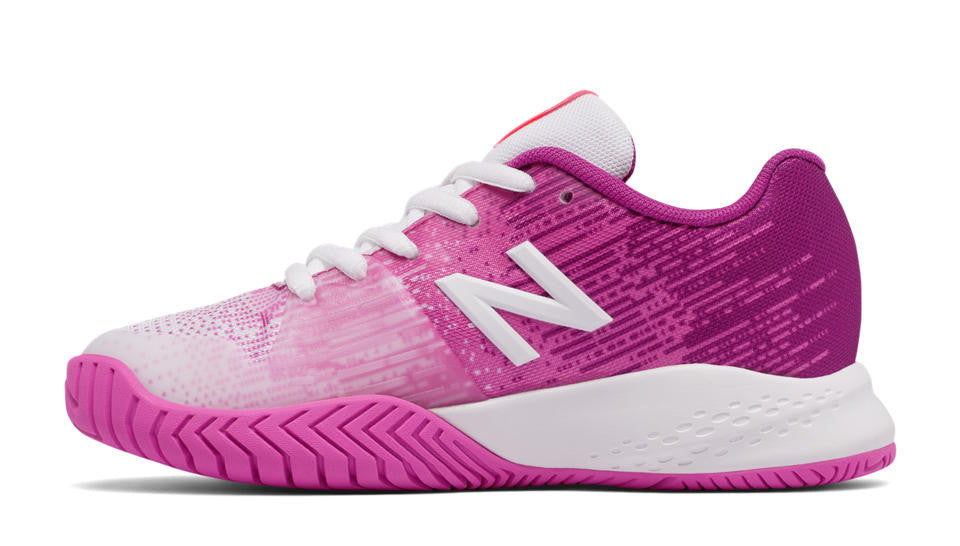New Balance 996v3 Tennis Court Shoe White/Pink