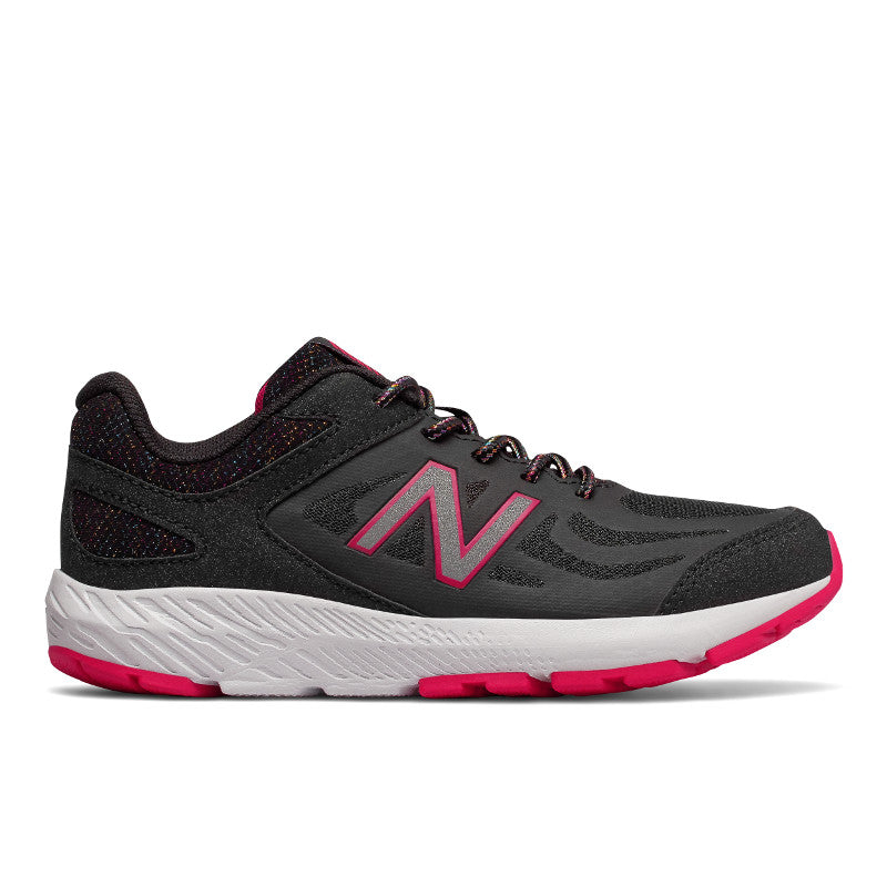 New Balance 519v1 Lace in Black/Rainbow(12.5-5)