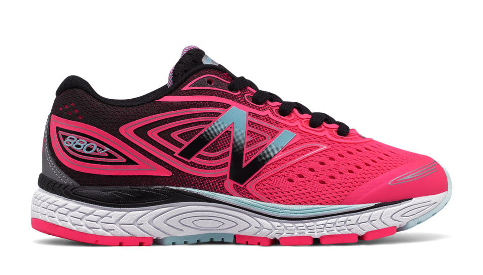 New Balance 880v7 Lace Sneaker Pink/Black