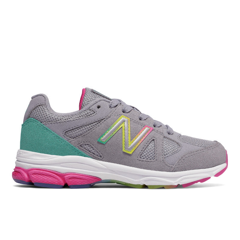 New Balance 888v1 Lace in Silver/Rainbow (Sizes 4-10)