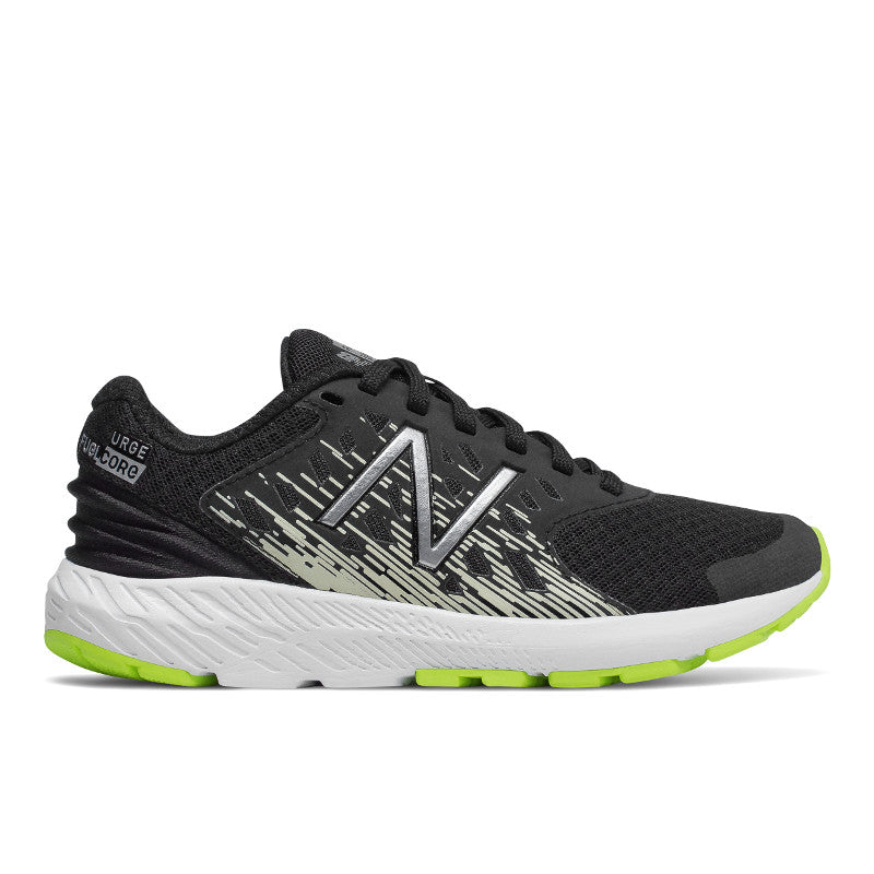 New Balance URGv3 Lace in Black/Grey/Lime (Sizes 1.5-5)