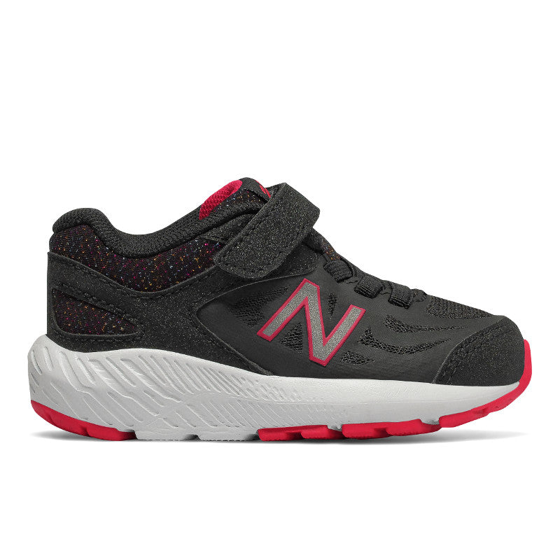 New Balance 519v1 Velcro in Black/Rainbow (Sizes 8.5-10)