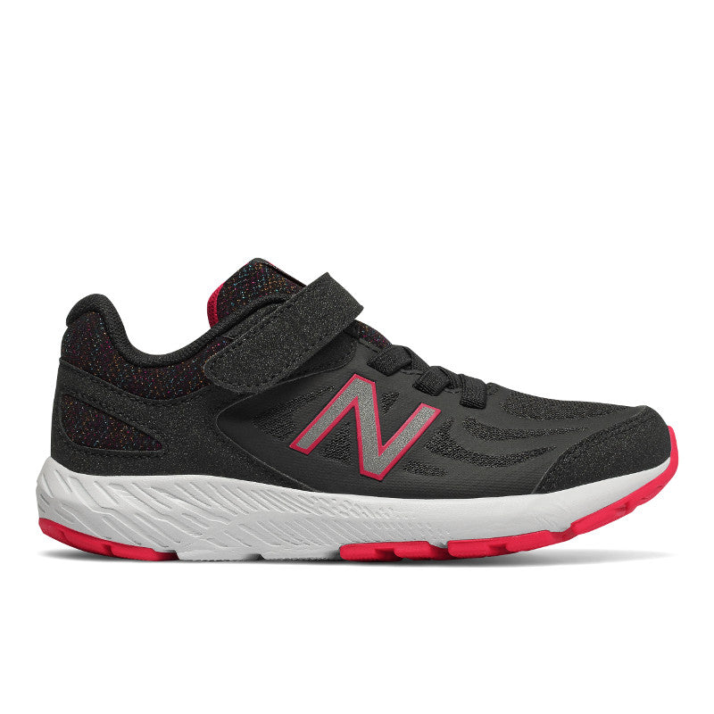 New Balance 519v1 Velcro in Black/Rainbow (Sizes 10.5-3)