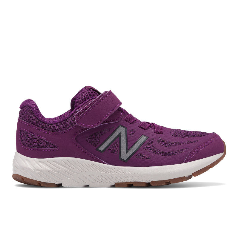 New Balance 519v1 Velcro in Plum Purple (Sizes 10.5-3)