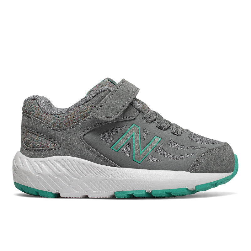 New Balance 519v1 Velcro in Grey/Aqua (Sizes 8.5-10)