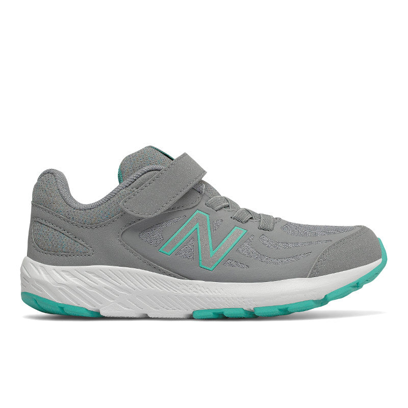 New Balance 519v1 Velcro in Grey/Aqua (Sizes 10.5-12)