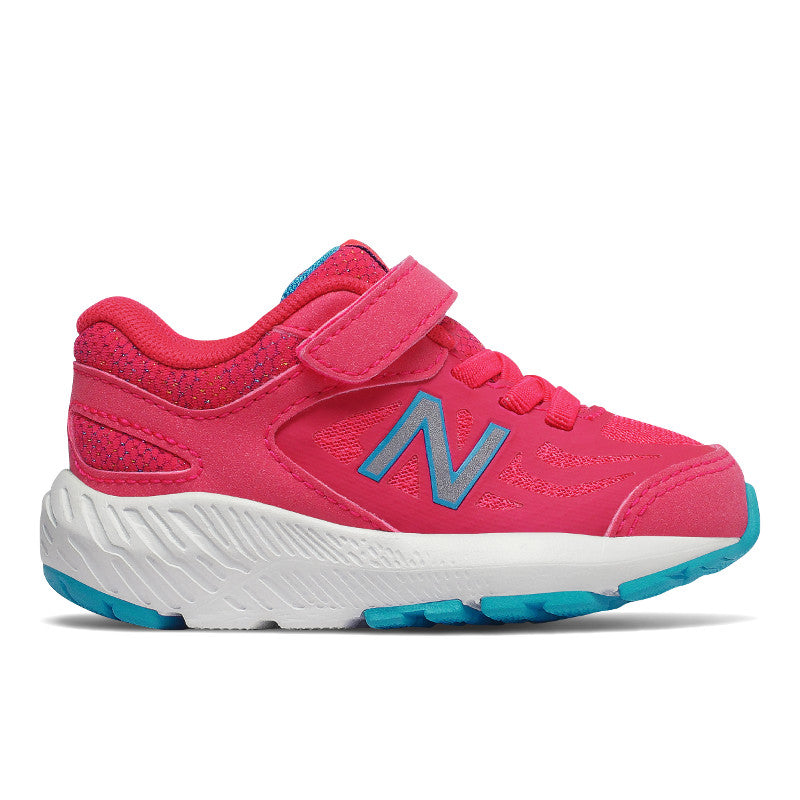 New Balance 519v1 Velcro in Pomegranate Pink (Sizes 8.5-10)