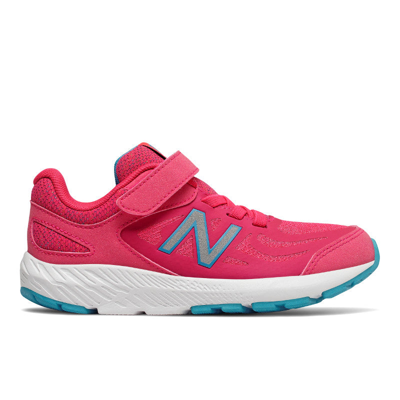 New Balance 519v1 Velcro in Pomegranate Pink (Sizes 10.5-3)