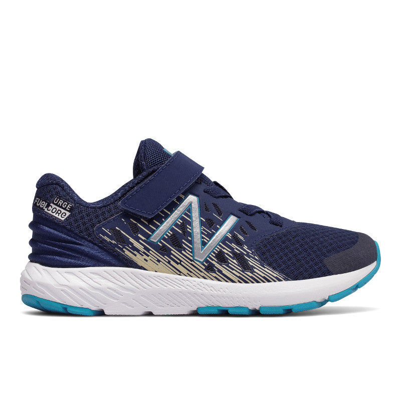 New Balance URGv3 Velcro in Tech Blue/Glow (Sizes 10.5-3)