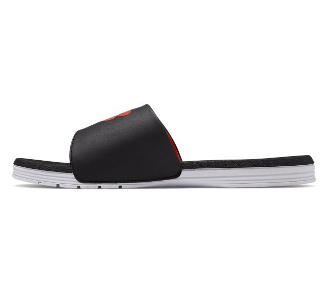 New Balance Mens Pro Slide Sandal - Black/Red