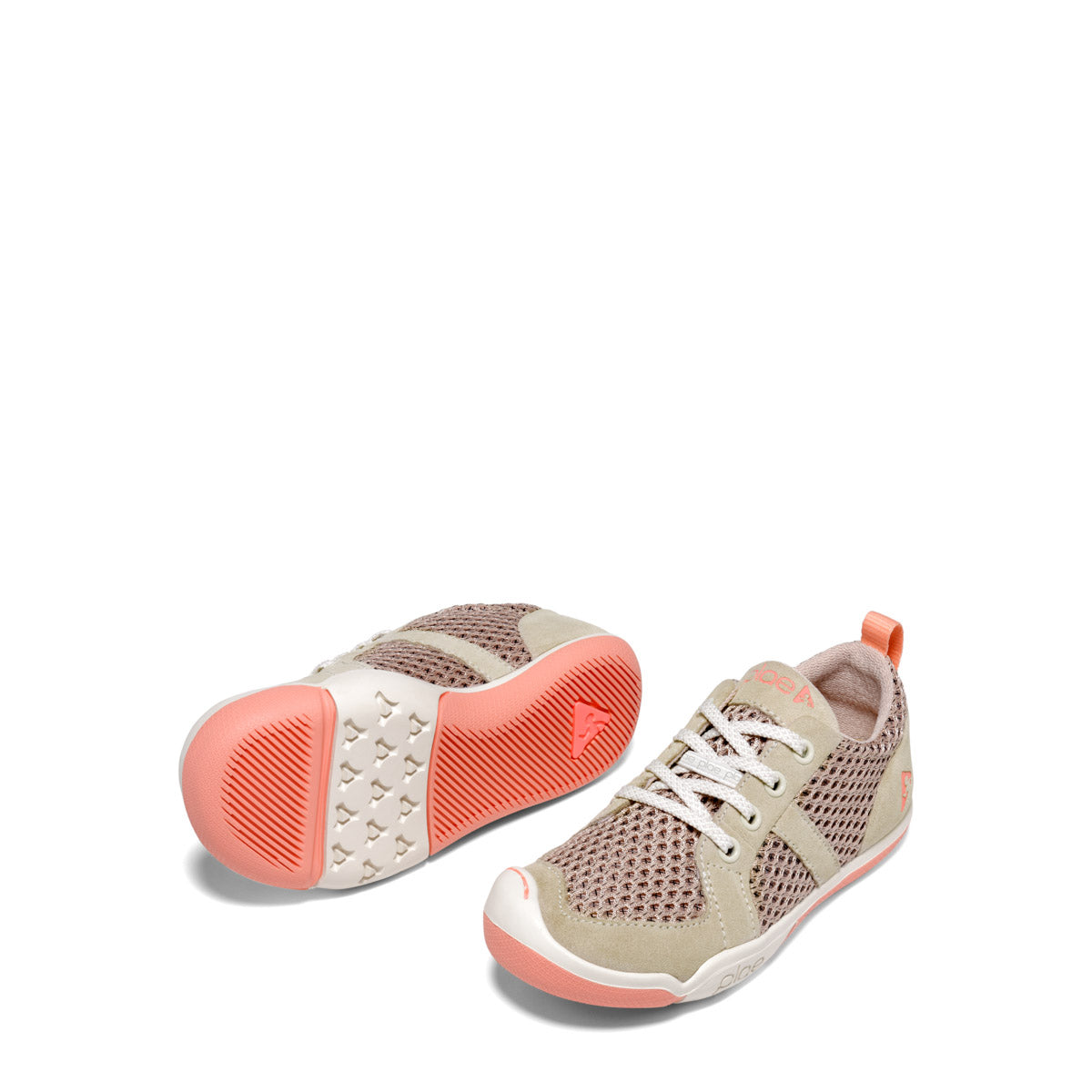 Miles Lace Sneaker - Blush Tan