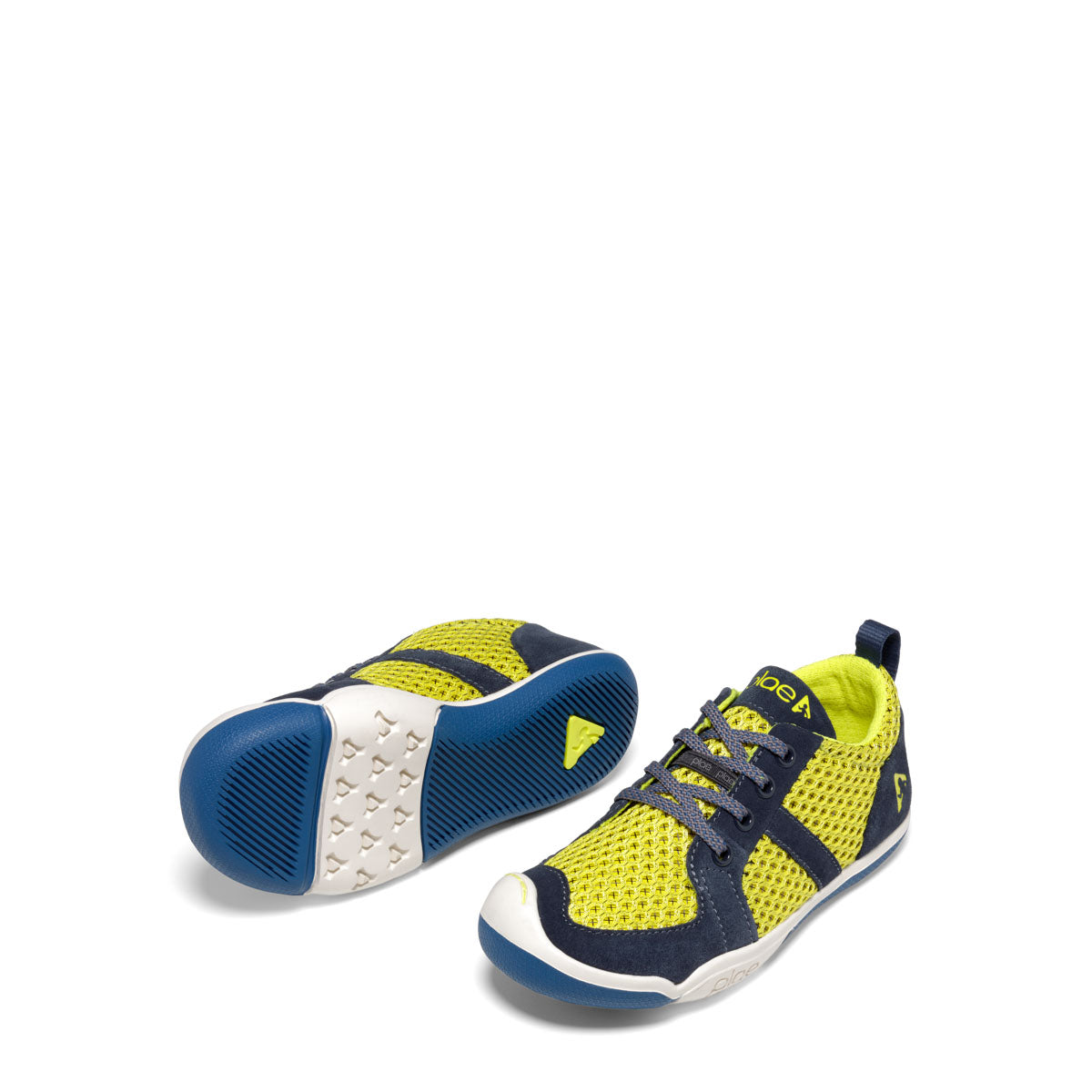 Plae Miles Lace in Flash Yellow/Blue (Sizes 12.5-4)