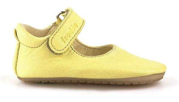 Prewalker Leather Mary Jane - Yellow