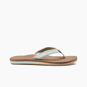 REEF LADIES VOYAGE LITE BEACH SANDAL - AQUA