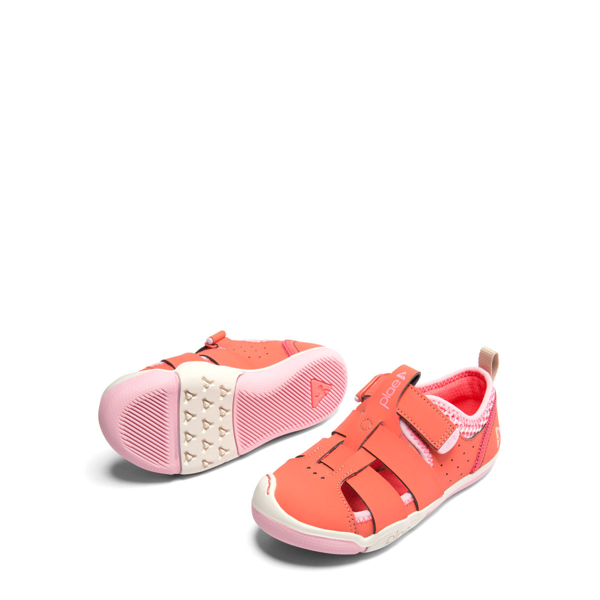 Plae Sam Sandal in Coralin (Sizes 6-13.5)