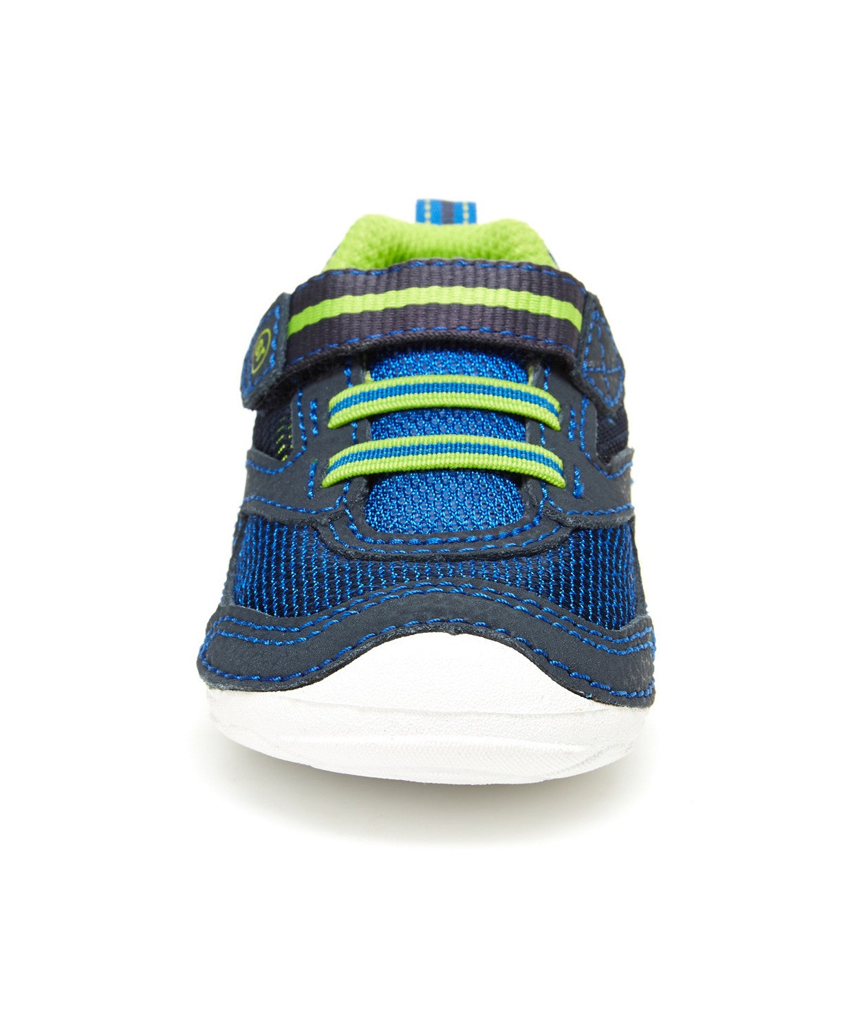 Stride Rite Soft Motion Adrian Sneaker - Navy/Lime