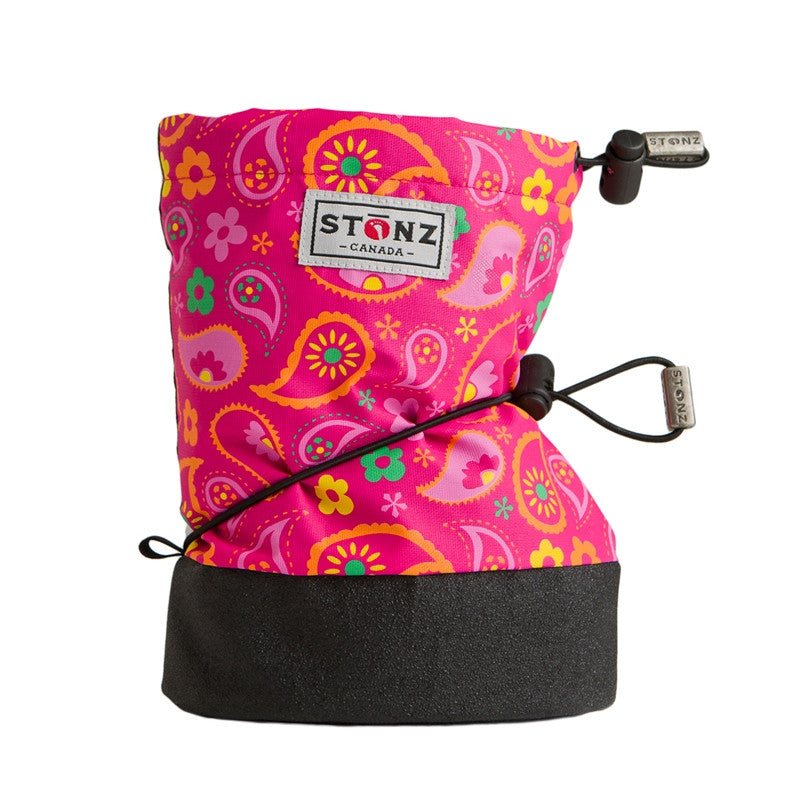 Stonz Booties in Pasley Pink/Fuchsia -  - Little Feet Childrens Shoes  - 1