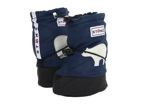 Stonz Booties in Polar Bear Navy