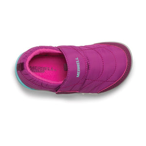 Merrell Kids Bare Steps Moc Shoe - Berry