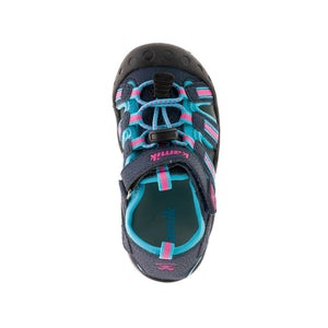 Kamik Kids Crab Sandal - Navy/Teal