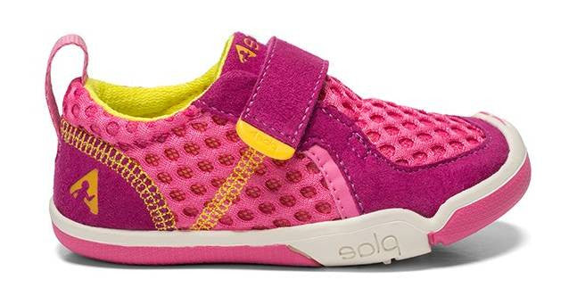 Plae Baby Ty in Festival Fuchsia - 6 - Little Feet Childrens Shoes  - 1
