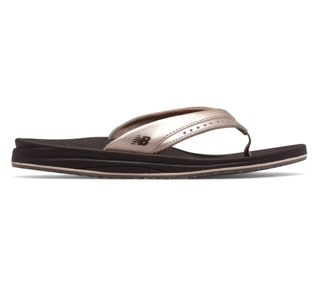 New Balance Ladies Renew Thong Sandal - Rose Gold
