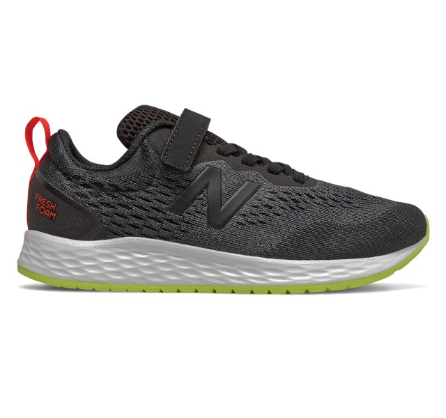 New Balance Kids Fresh Foam Arishi A/C Sneaker - Black