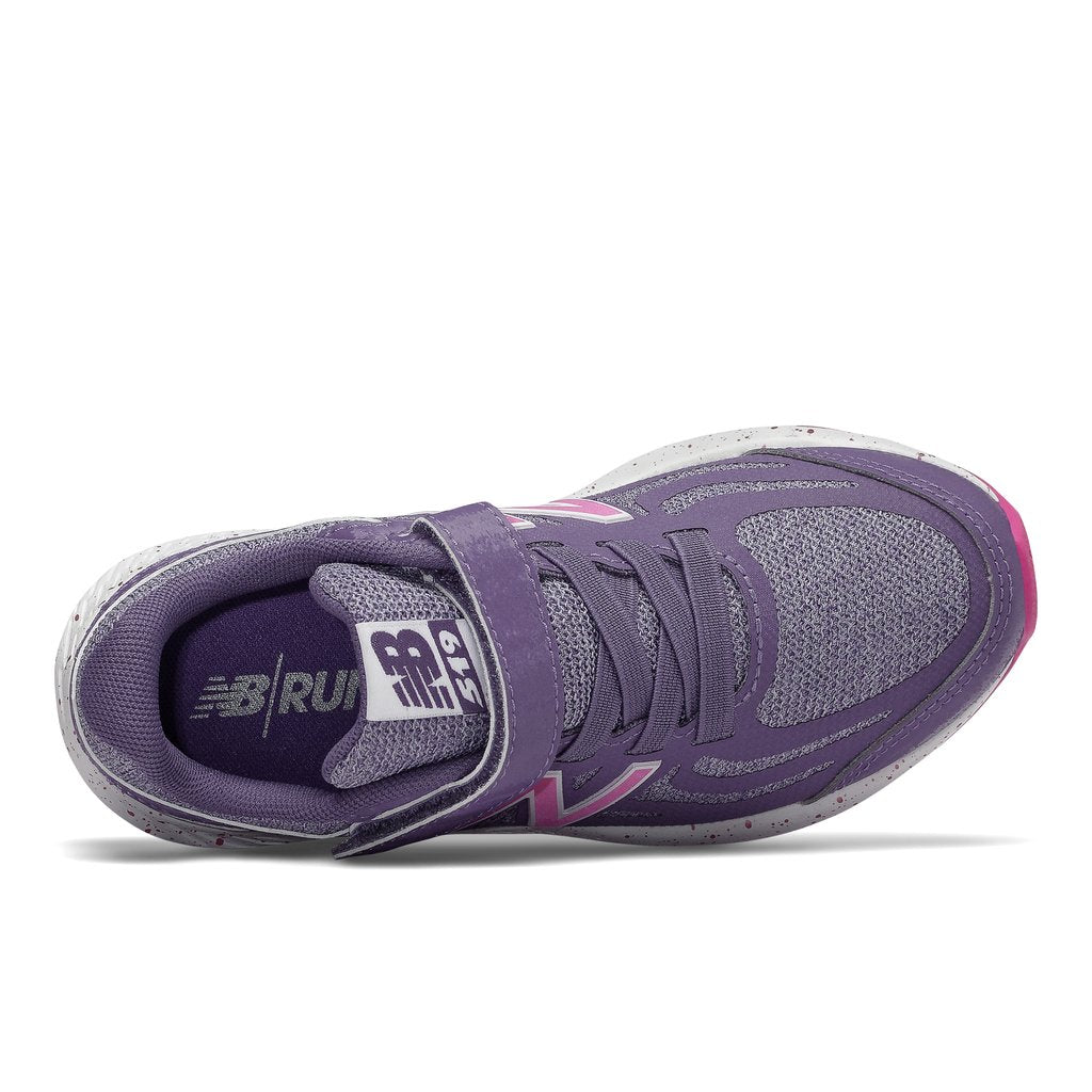 New Balance Kids 519v1 A/C Running Shoe - Violet