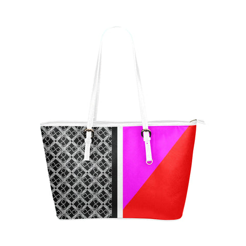 Abstract Logissimo Jane Leather Tote Bag