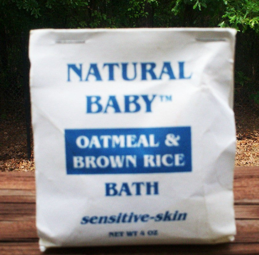 ANISSEI NATURAL BABY OATMEAL & BROWN RICE BATH 4oz