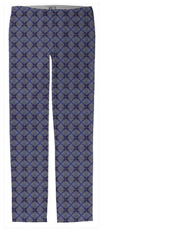mens navy blue logo trousers