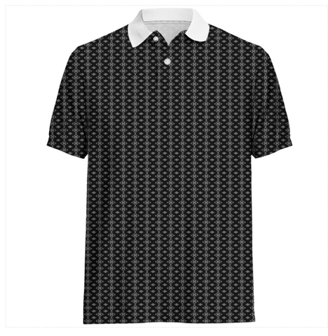 S. Lane Men Exes Polo Shirt - black